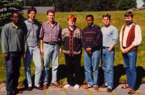 Student group  E1994-04, and Erling Strand